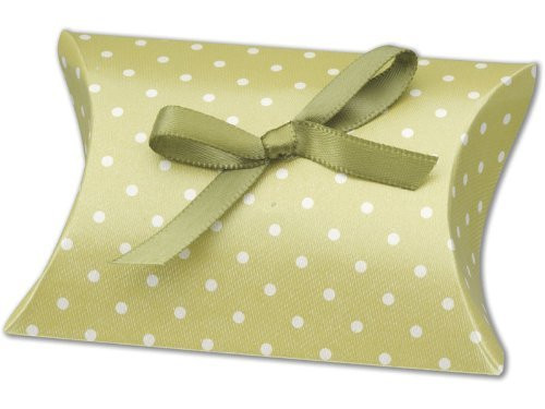 Moss Green Pillow Favour Box DIY (1)