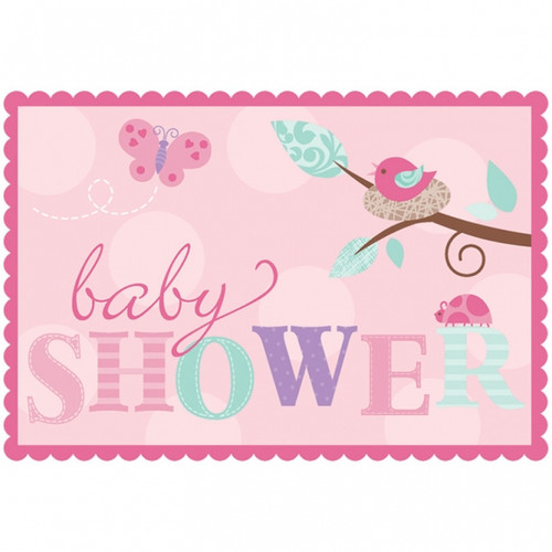 Tweet Baby Girl Invitations (8)
