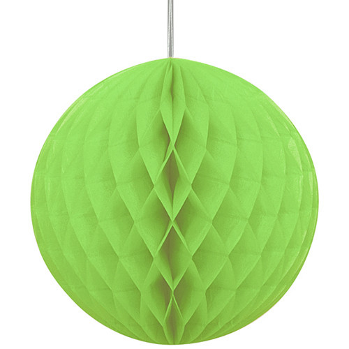 Green Honeycomb Ball Paper Decoration (1)