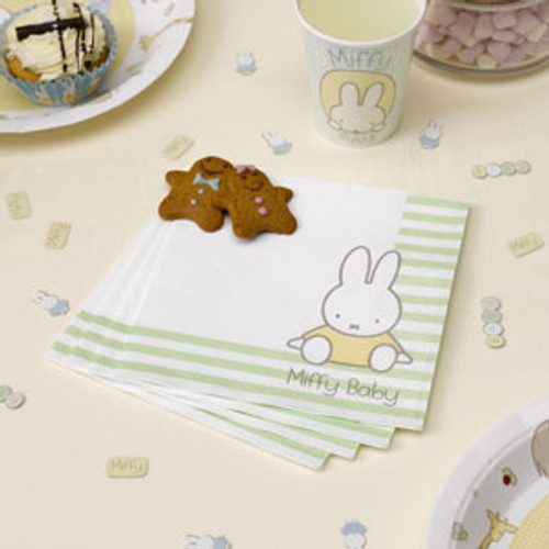 Baby Miffy Lunch Napkins (20)