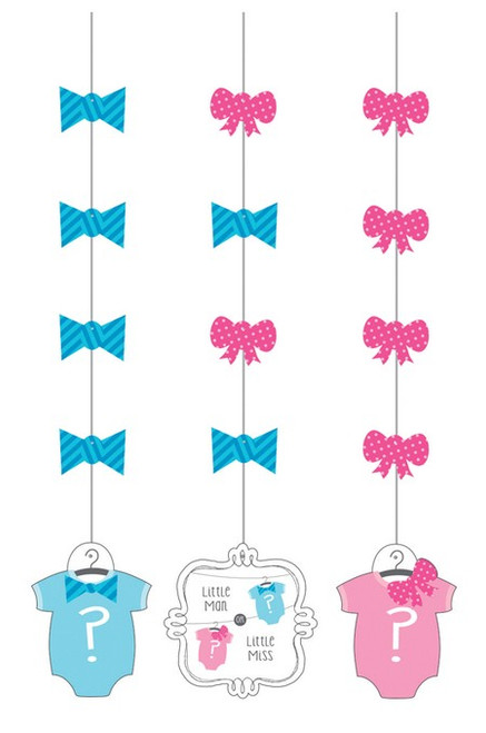 Bow or Bow Tie Hanging Cutouts (3)