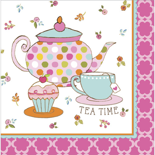 Tea Time Lunch Napkins (16)