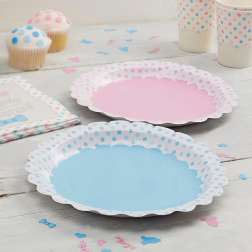 Little Lady or Mini Mister Plates (8)