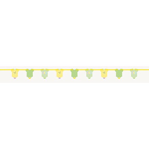 Pastel POlka Dot Baby Clothes Line Banner (1.96m)