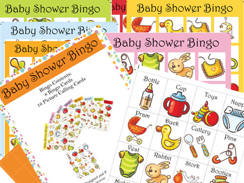 Baby Shower Bingo Icon Game (16)