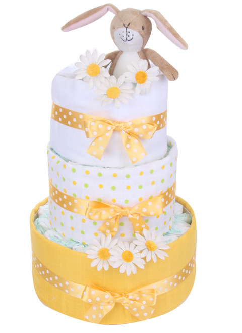 3 Tier Guess How Much I Love You Swaddle Nappy cake