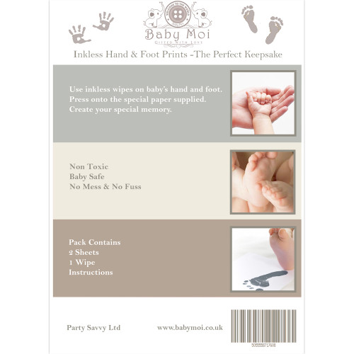unisex handandfootprint kit