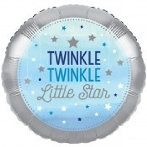 Twinkle Little Star Boy Foil Balloon