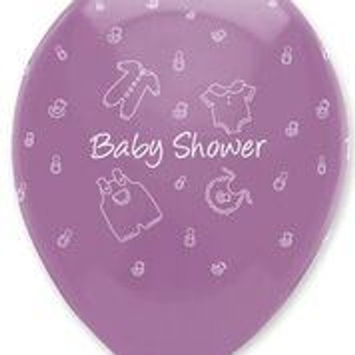 Baby Clothes Baby Shower latex balloons (6)
