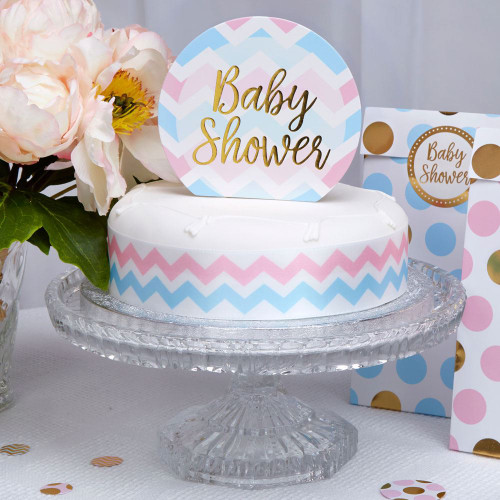 Pattern Works - Cake Topper Baby Shower