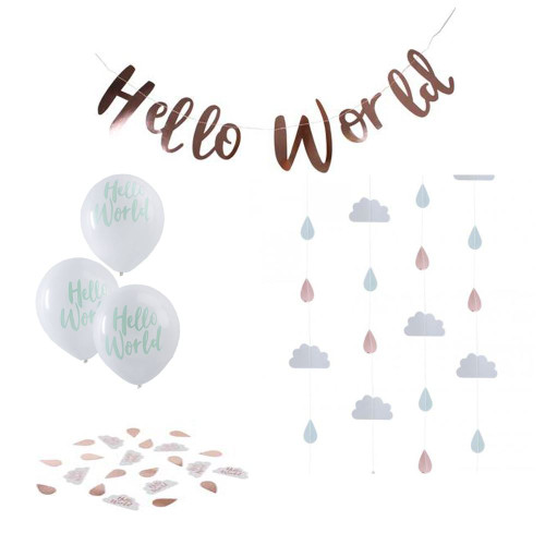 Hello World Decorating Pack
