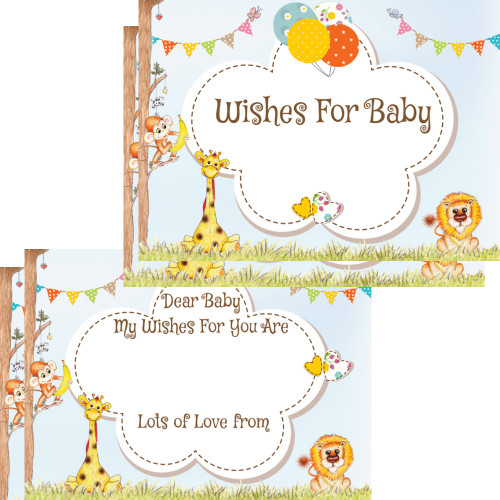 Baby Wishes Cards Jungle (16)