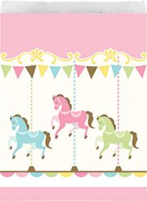 Carousel treat bags