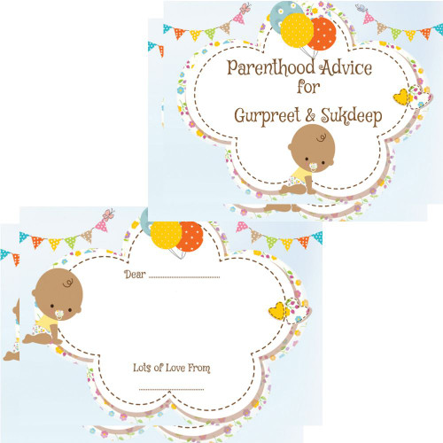 Personalised Parenthood Advice Cards ETHNIC (16)