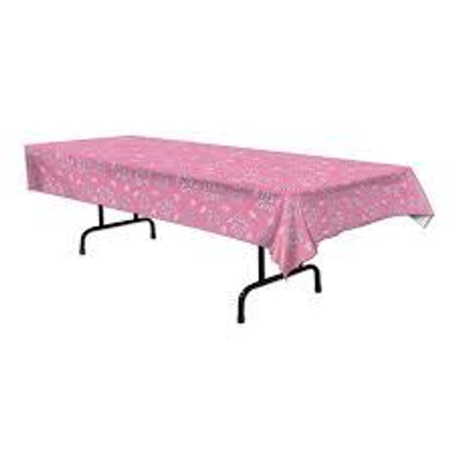 It's a girl pink tablecover