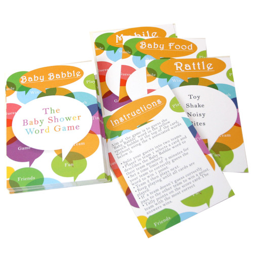 Baby Babble Baby Shower Team Game