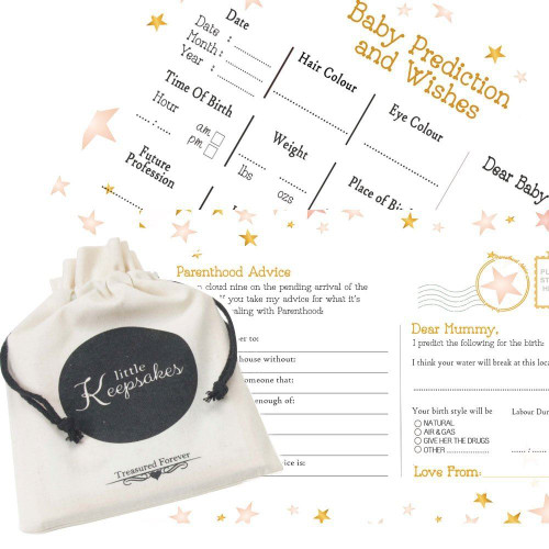 Twinkle little star girl predictions and wishes cards (16)