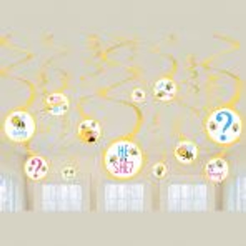 What will it bee? Swirl decorations