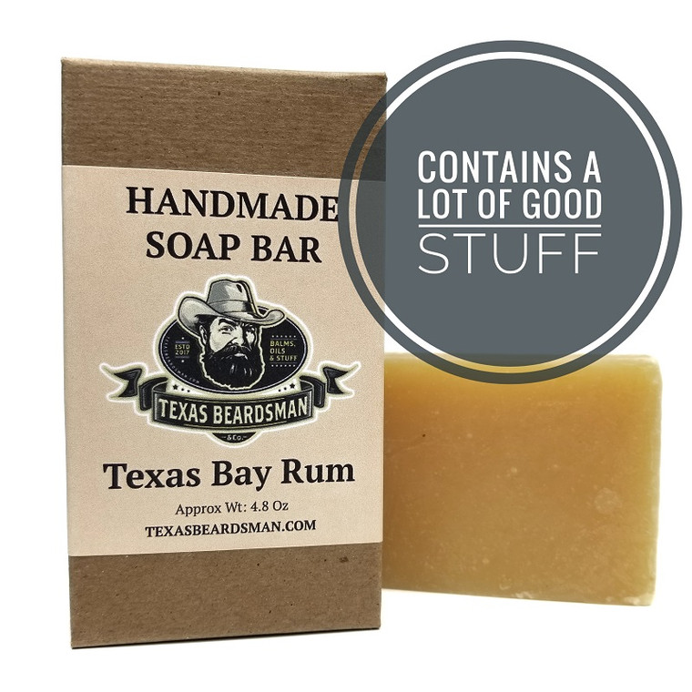 Texas Bay Rum Handmade Soap