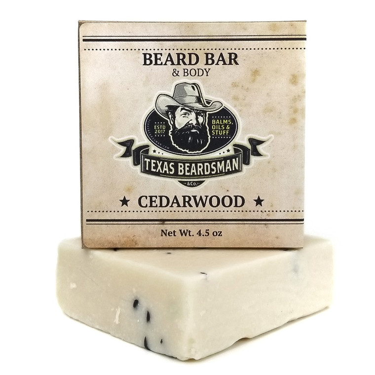 Cedarwood Beard & Body Soap