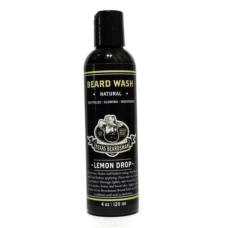 Lemon Drop Beard Wash 4 oz