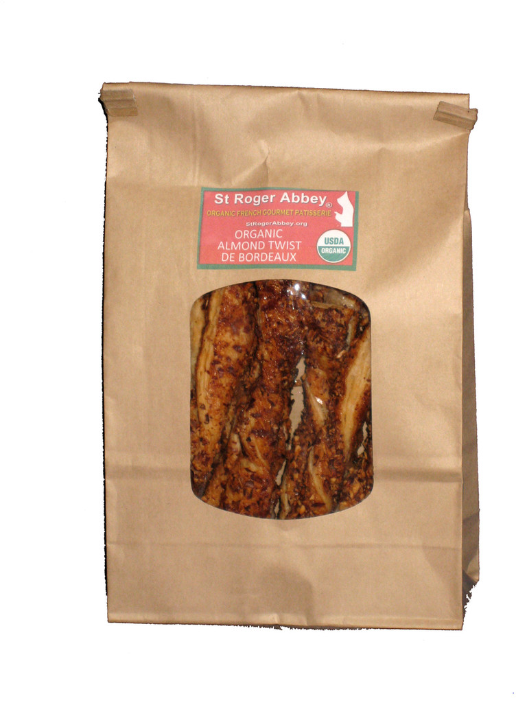 Organic Almond Twists from Bordeaux