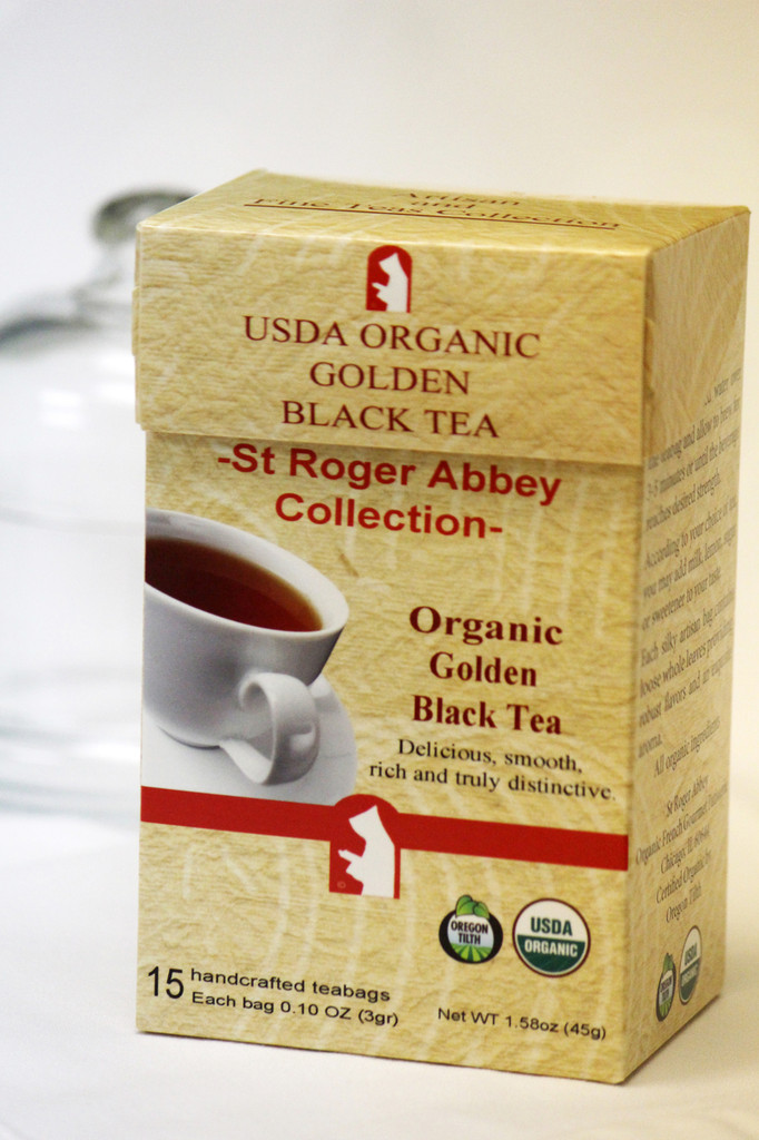 Organic Black Tea from St Roger Abbey
