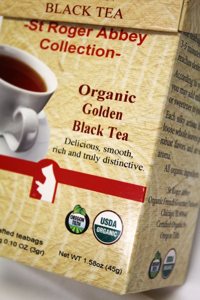 St Roger Organic Black Tea