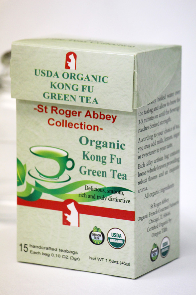 St Roger Abbey's Organic Green Tea