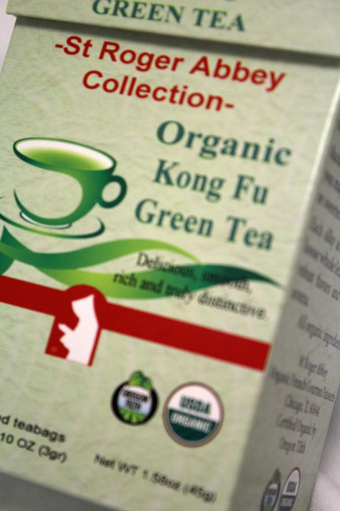 Organic Kong Fu Green Tea