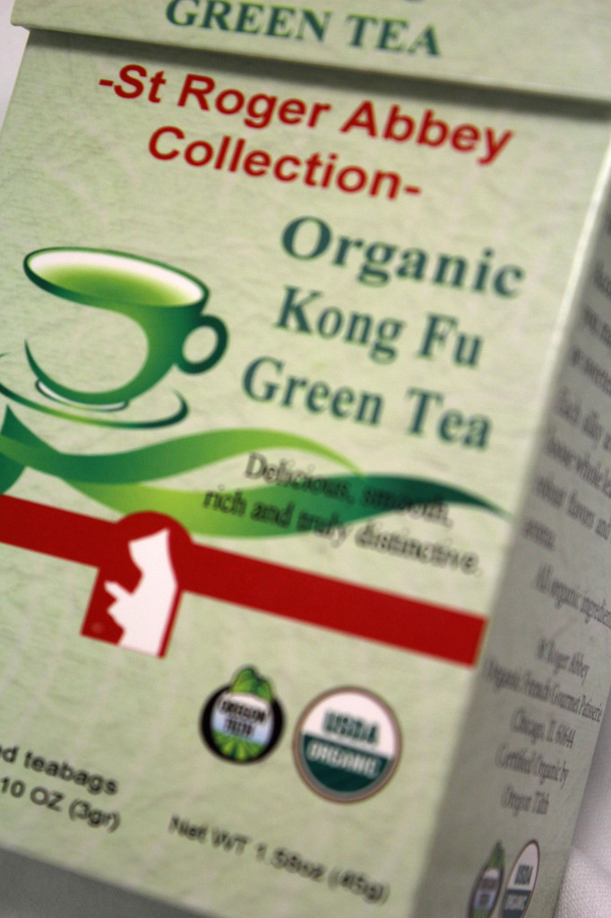 Organic Kong Fu Green Tea