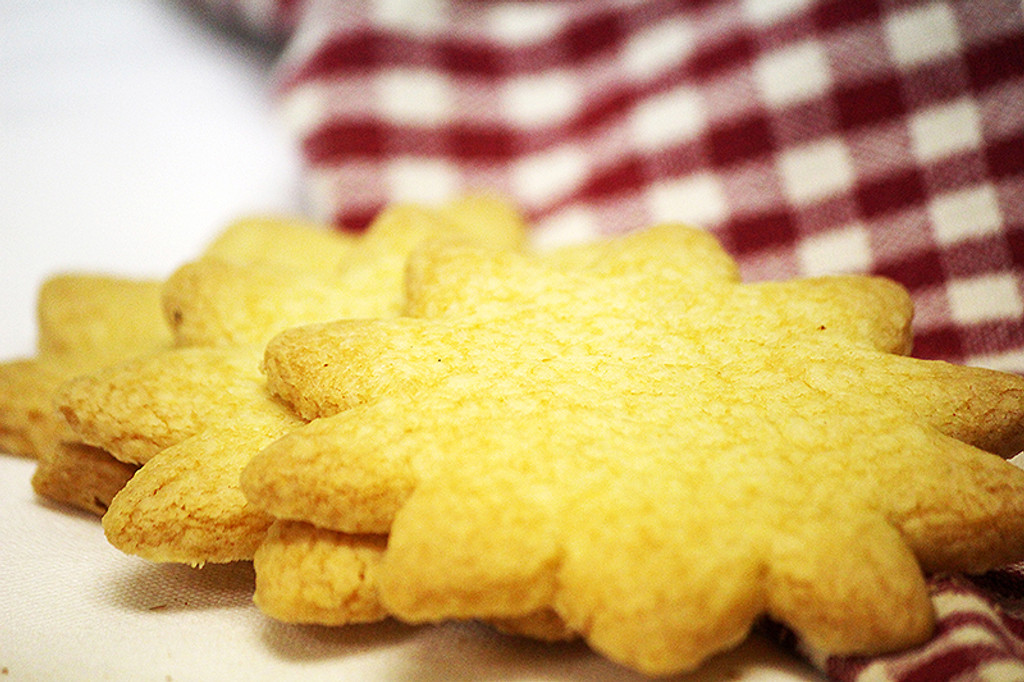 St Roger Abbey Organic Lemon Cookies