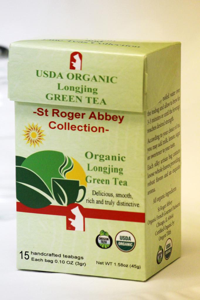 St Roger Abbey's Organic Longjing Green Tea