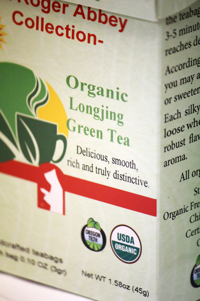 Organic Green Tea from China