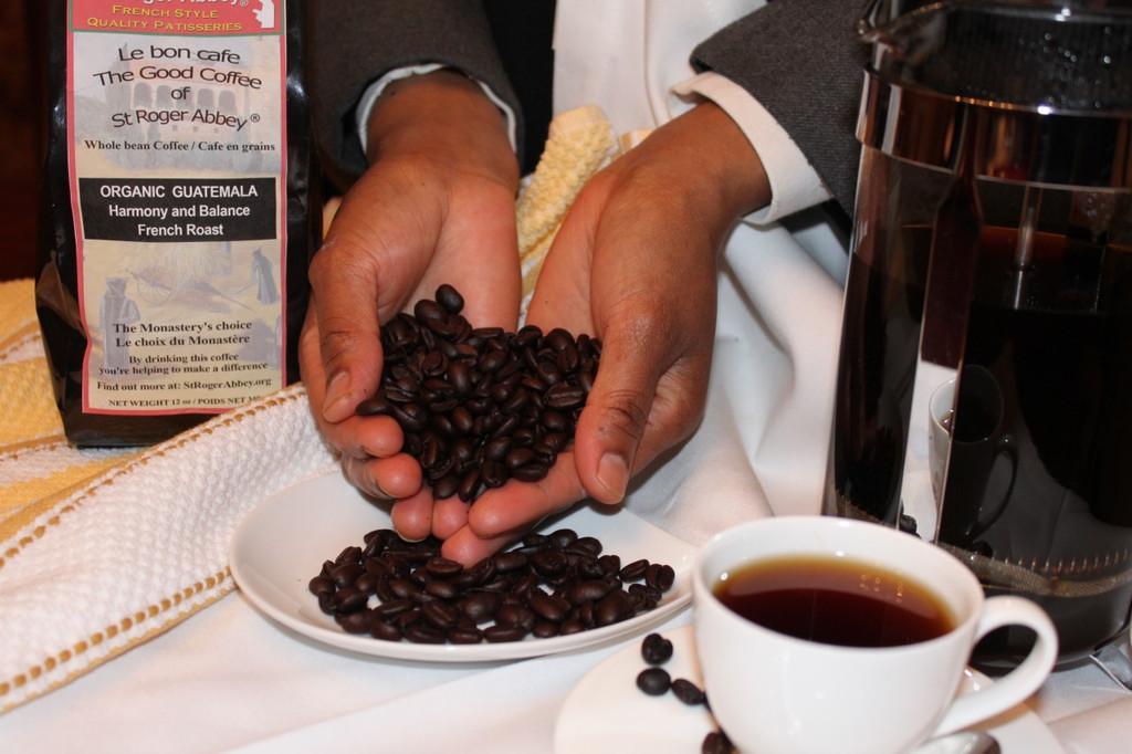 STORE-PICK-UP: St Roger Abbey ORGANIC GUATEMALA COFFEE