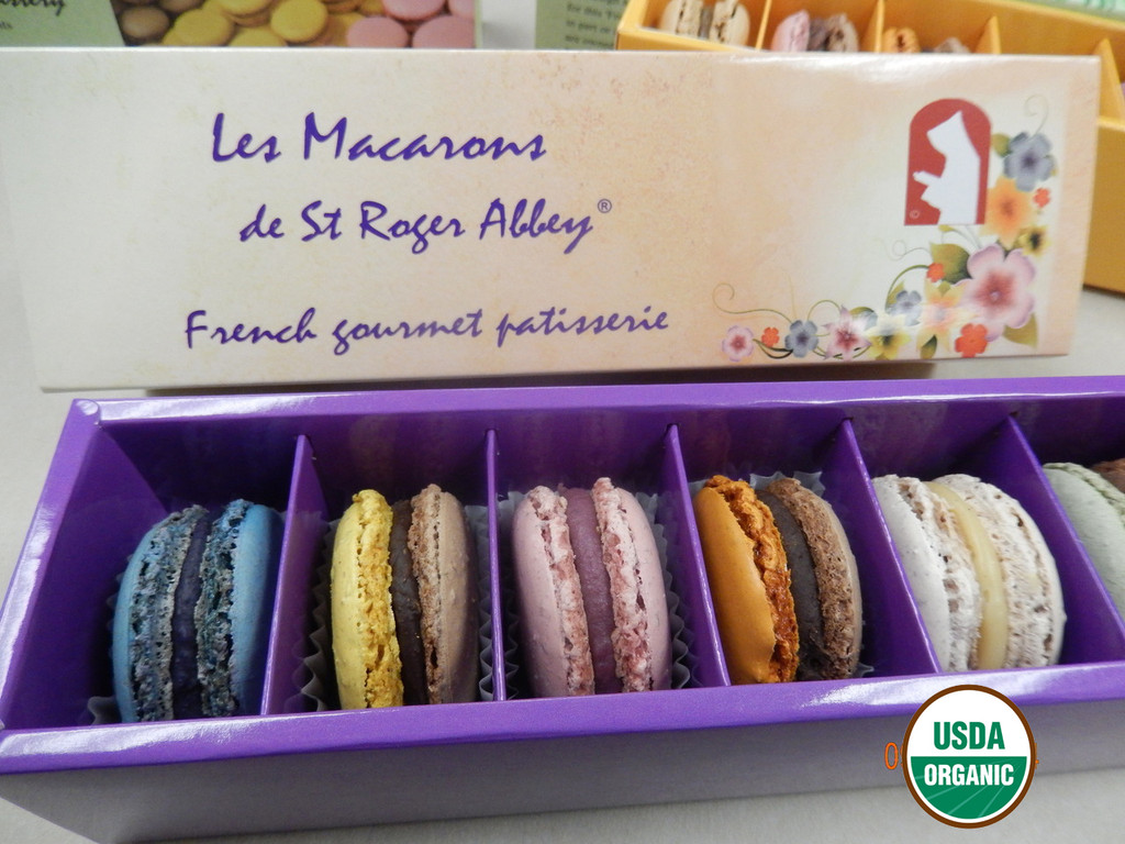 STORE-PICK-UP: ORGANIC LE JARDIN FLEURI DE L'ABBAYE MACARON ASSORTMENT
