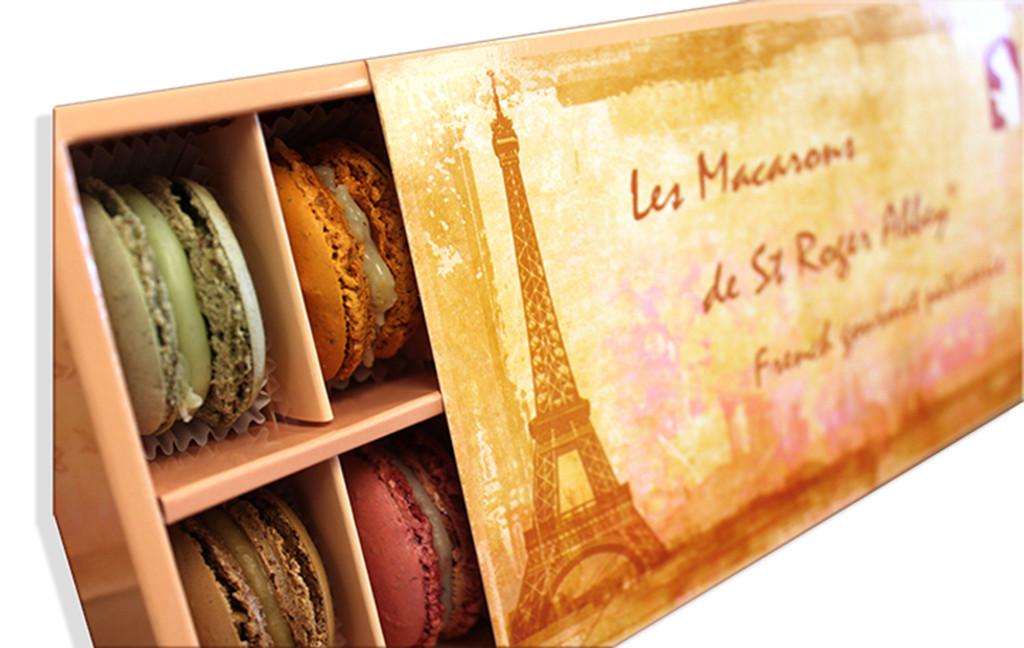 STORE-PICK-UP: ORGANIC PARIS TOUR EIFFEL MACARON ASSORTMENT