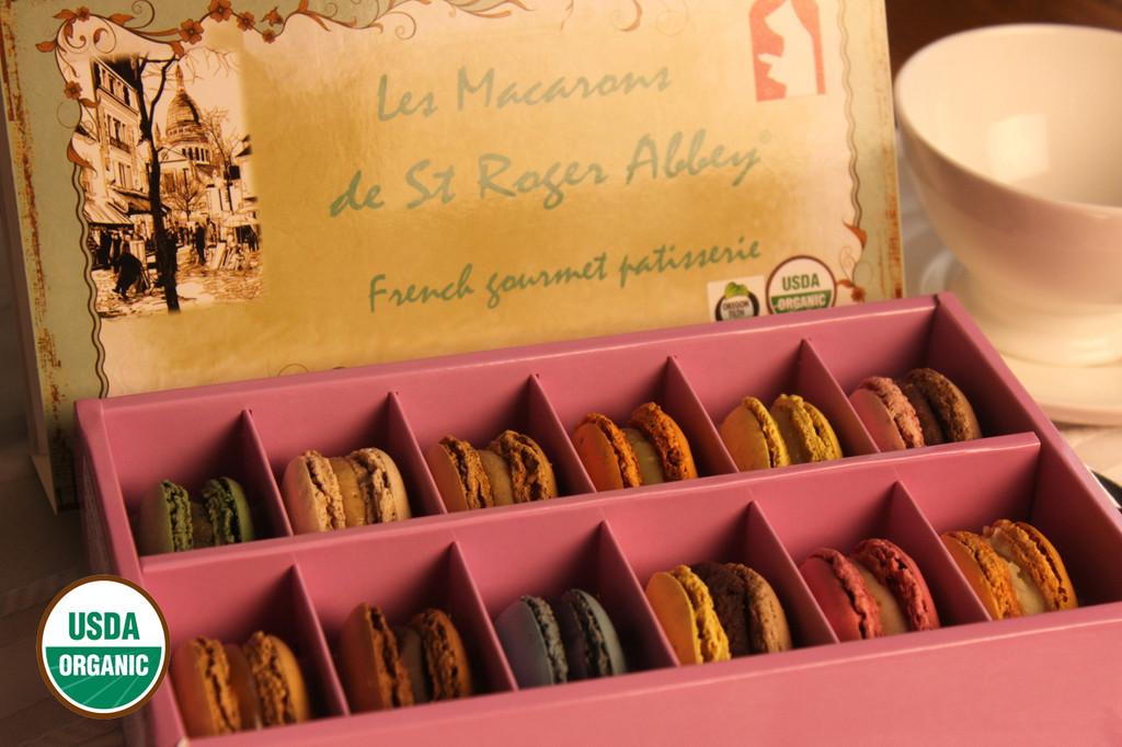 STORE-PICK-UP: ORGANIC PARIS MONTMARTRE MACARON ASSORTMENT