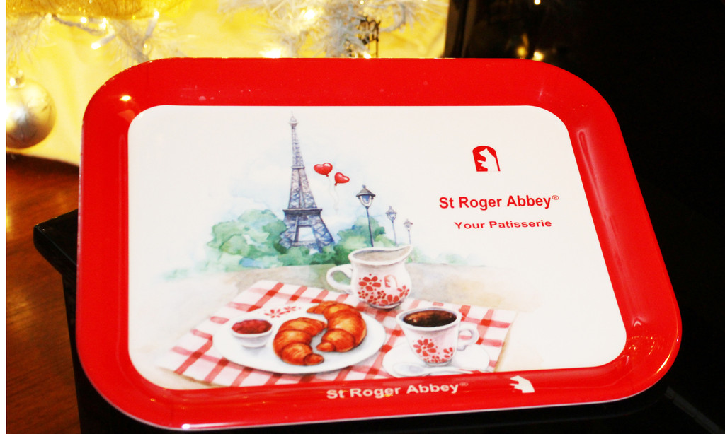 St Roger Abbey's Serving Tray