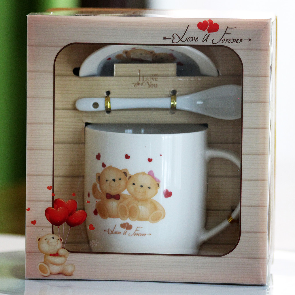 SHIPPING: Love You Mug Set - Pick the Design You Wish