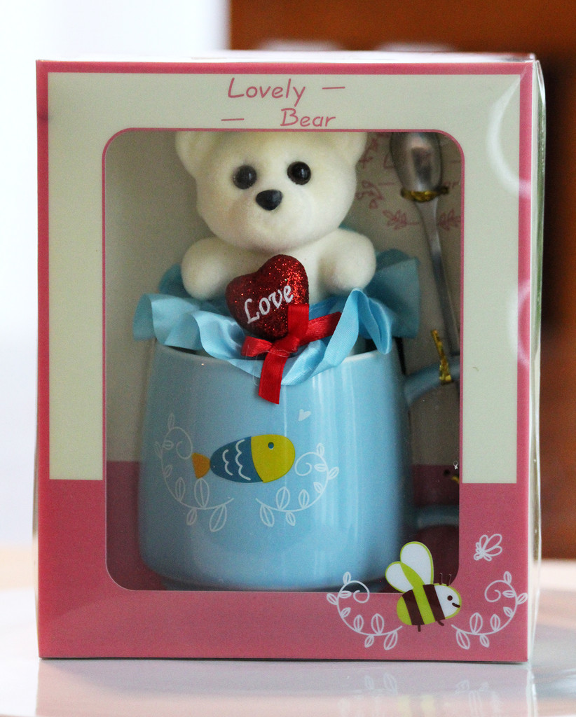 SHIPPING: My Lovely Bear Mug Set - Browse Mug Styles