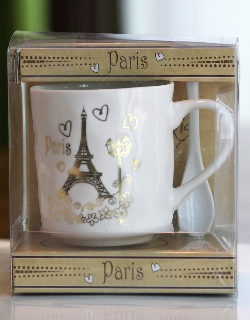 SHIPPING: I Love Paris Mug Set - Select your Tower.