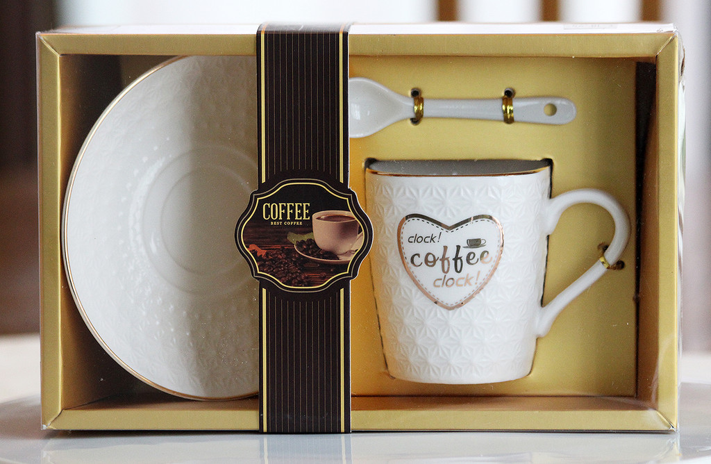 STORE-PICK-UP: Elegant Coffee Cup Set - Pick the Design You Want