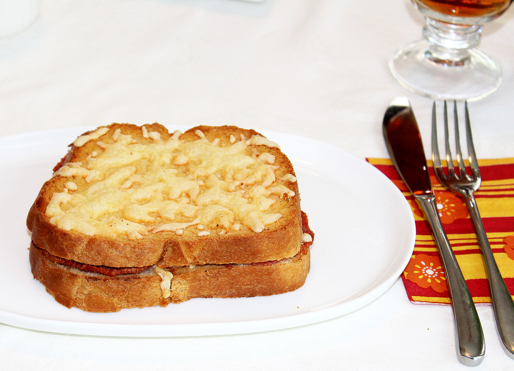 STORE-PICK-UP: Organic Croque-Monsieur