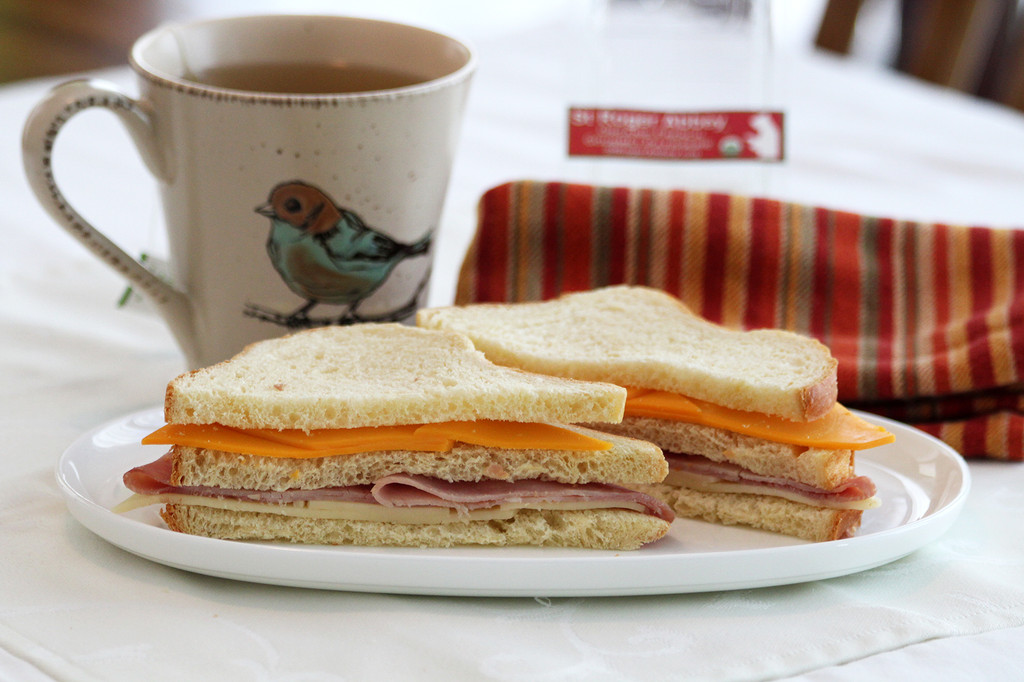 STORE-PICK-UP: Organic Ham & Cheese Hermitage's Sandwich