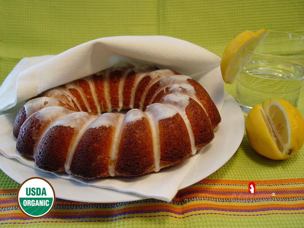 ORGANIC LEMON CROWN CAKE