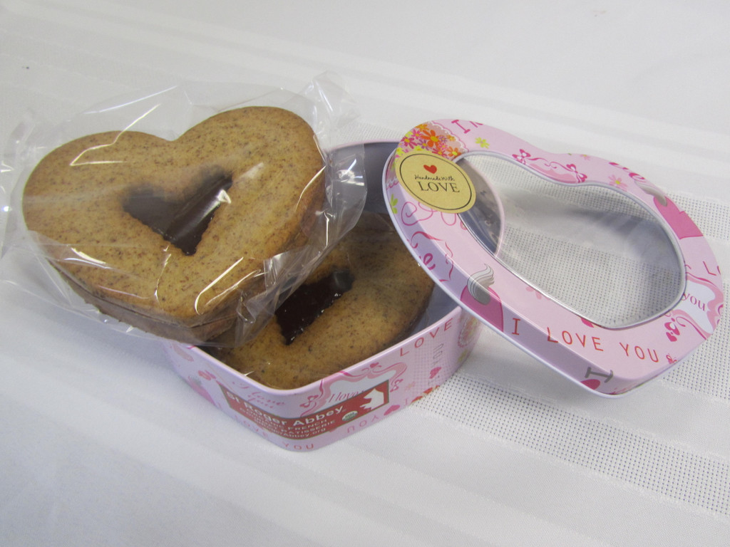 SHIPPING: Sweetness of Saint Valentine - Organic Cookies
