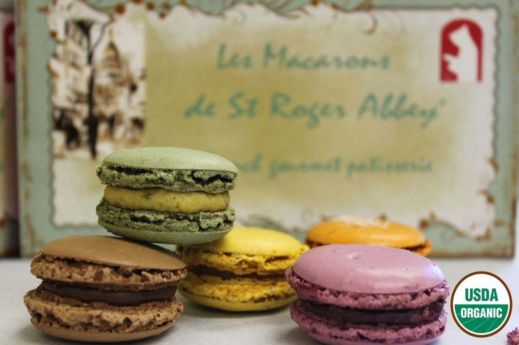 SHIPPING: ORGANIC PARIS MONTMARTRE MACARON ASSORTMENT