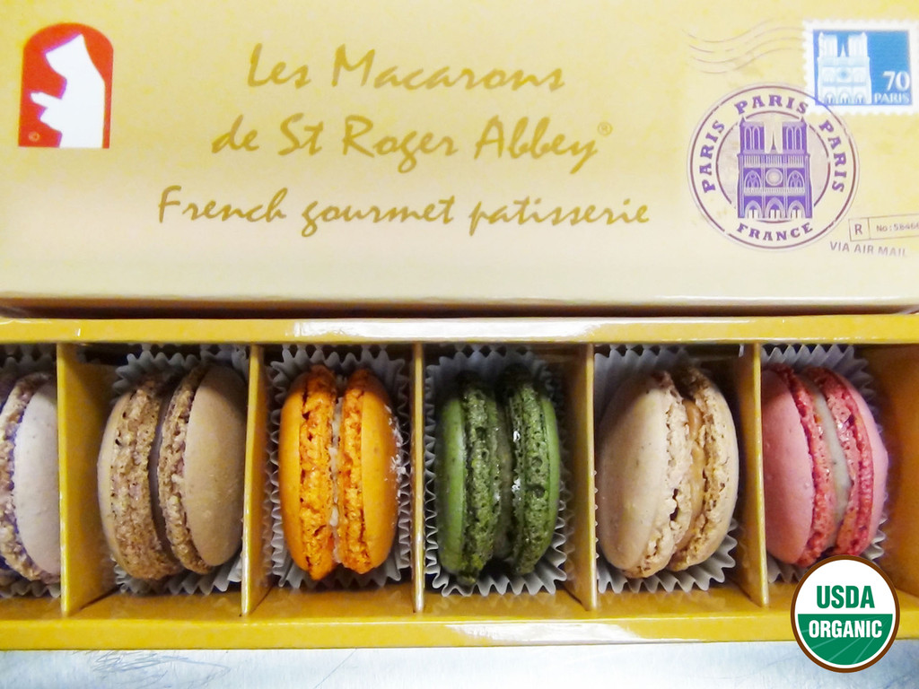 ORGANIC PARIS NOTRE DAME MACARON ASSORTMENT