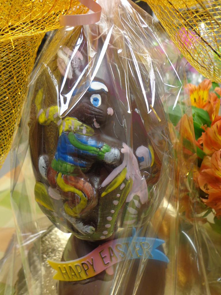 CHOCOLATE BUNNY RIDING